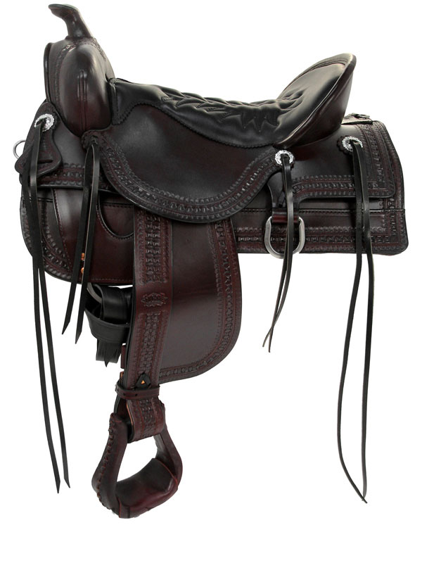 15.5inch to 18.5inch Tucker Saddles Old West Trail Saddle 277