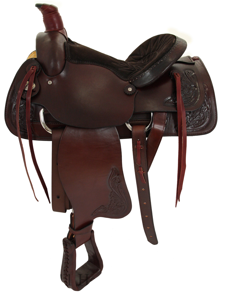 15inch 16inch American Saddlery American All Around Roping Saddle 750