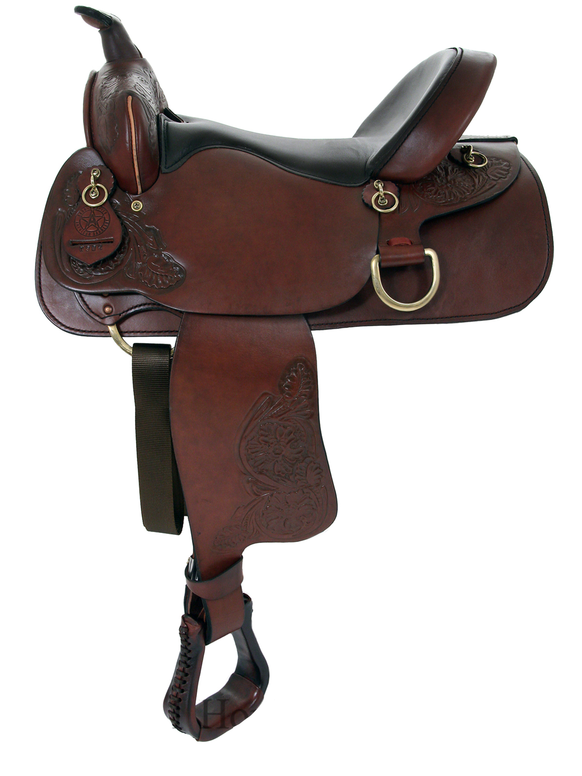 15inch 16inch American Saddlery Deluxe Enduro Trail Saddle 1383 1384