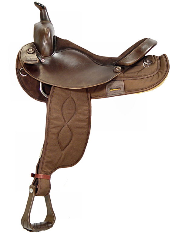 15inch 16inch Big Horn cordura Saddle FQHB 205_ 206_ 250_ 251