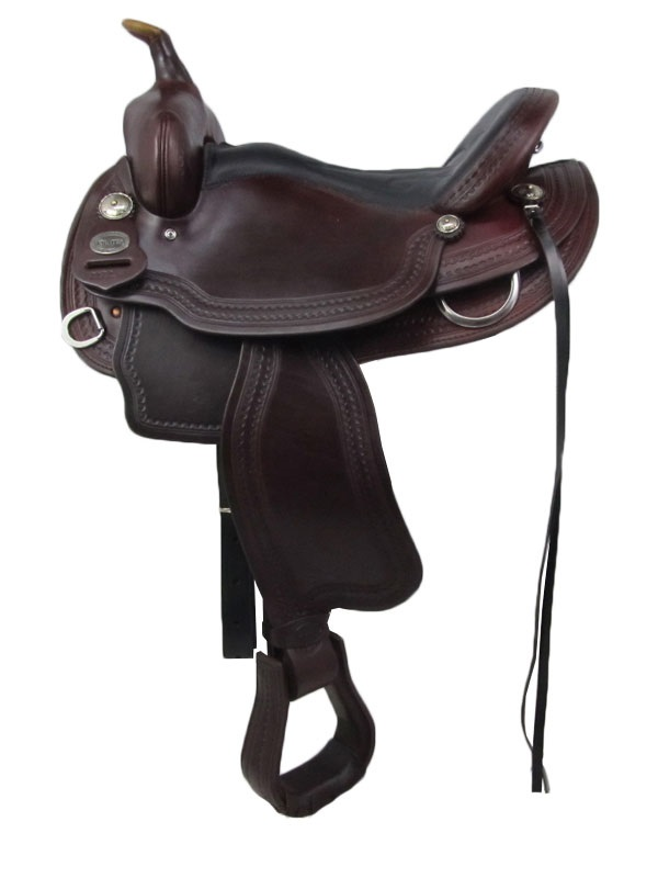 15inch 16inch Crates Light Ladies Competition Trail Saddle 2172