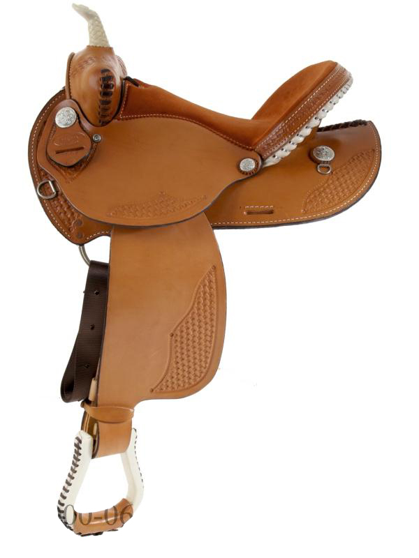 15inch 16inch Dakota Barrel Racing Saddle 910j
