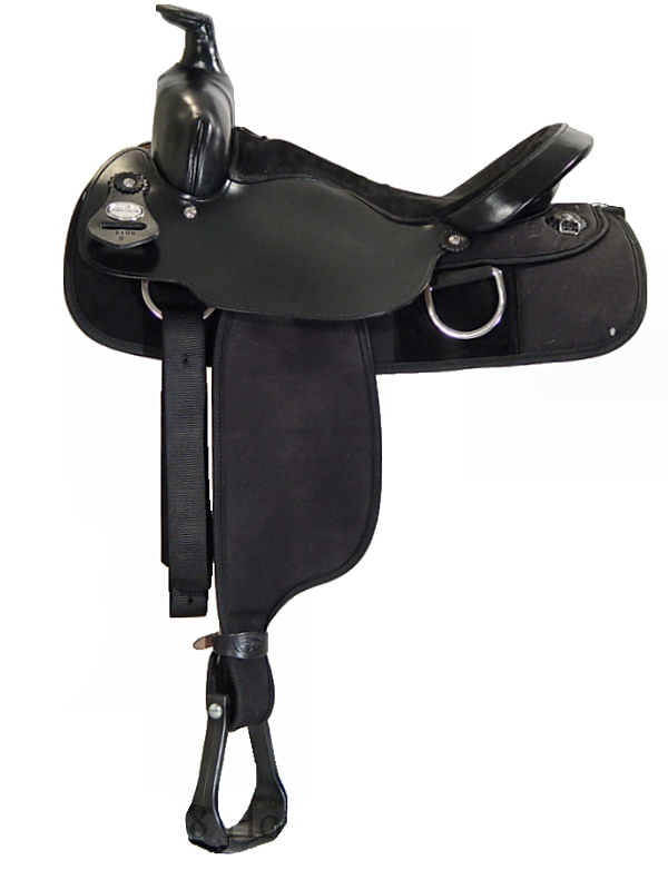 15inch 16inch Fabtron Black Synthetic Saddle 7109 7111