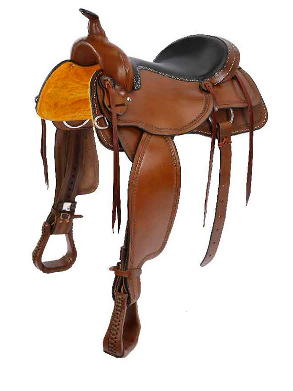 15inch - 16inch Oregon Trail All Around Saddle by Colorado Saddlery 100-6336