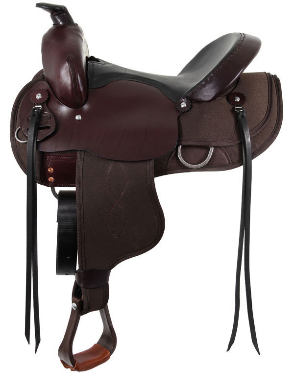15inch-17inch South Bend Saddle Co inchNavigatorinch Gaited Trail Saddle 1003