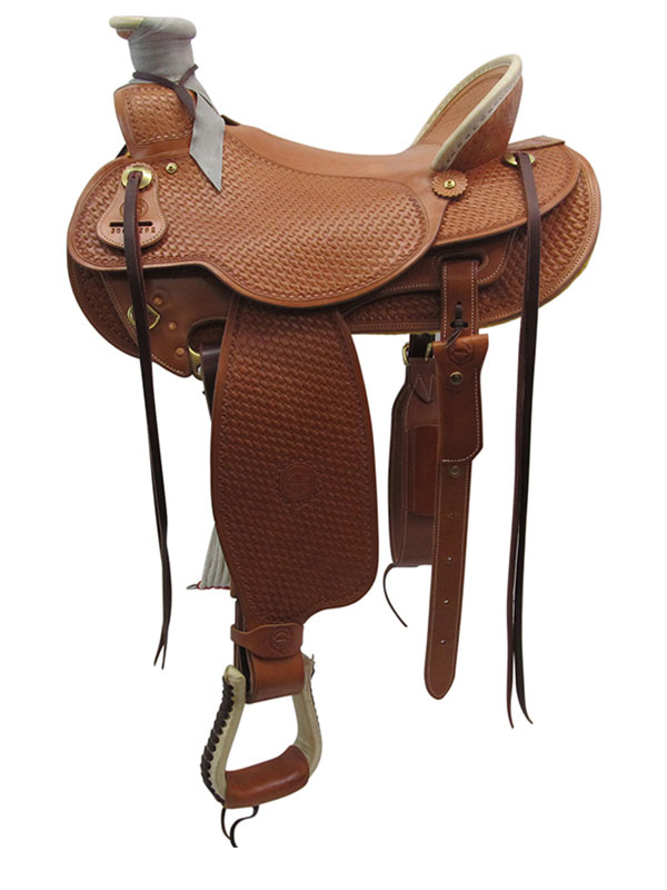 15inch-17inch The Teton Valley Wade Tree Saddle by Colorado Saddlery 300-292