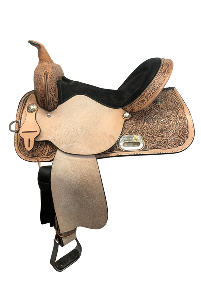 15inch High Horse by Circle Y The Proven Mansfield Wide Barrel Saddle 6221_ Floor Model