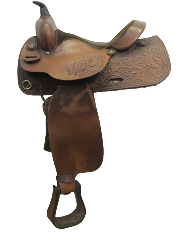 15inch Used Big Horn Trail Saddle 1547