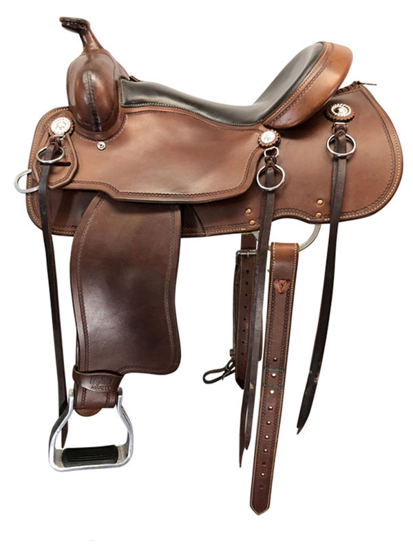 15inch Used Cashel Wide Trail Saddle