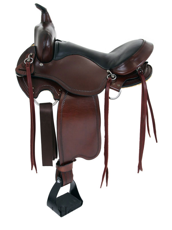 15inch to 17inch Big Horn Custom Light Flex Tree Trail Saddle 813 814