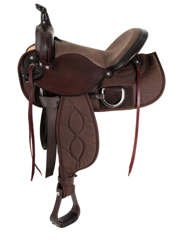 15inch to 17inch Big Horn Lady Light Weight Flex Trail Saddle 323