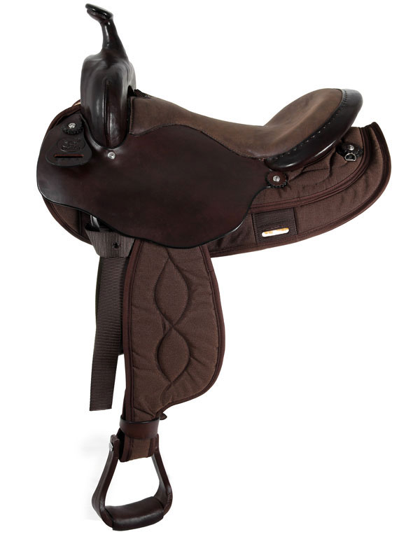 15inch to 17inch Big Horn Light Weight Haflinger Saddle 286