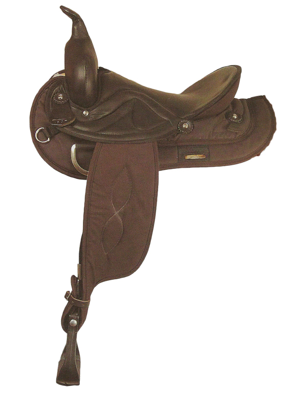 15inch to 17inch Big Horn Sof-Tee Riders Saddle 507 607