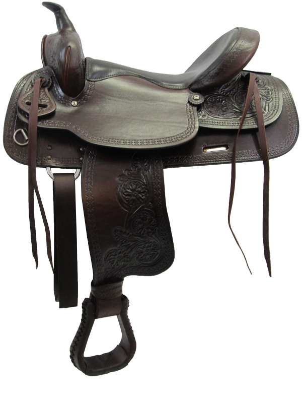 15inch to 17inch Big Horn Texas Best Del Rio Rider Trail Saddle 950