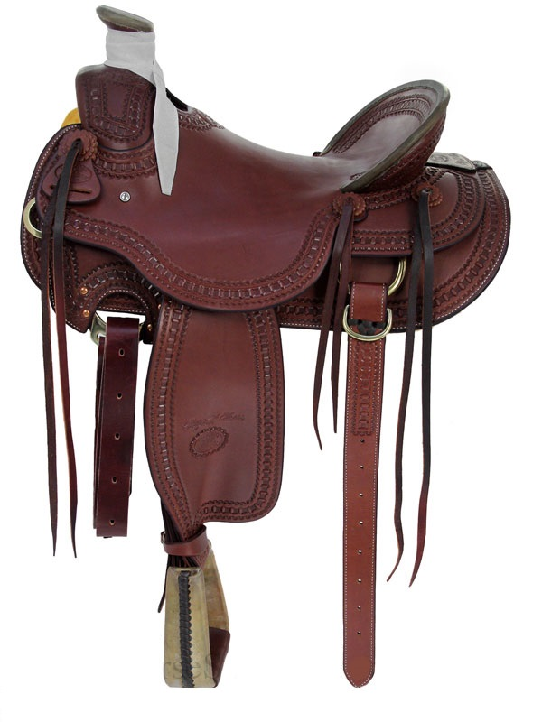 15inch to 17inch Billy Cook Arbuckle Wade Ranch Saddle 2182