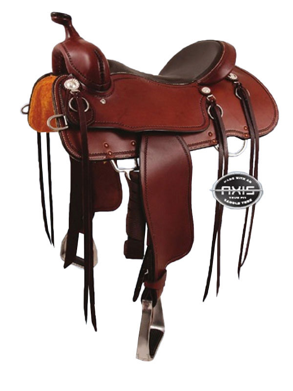 15inch to 17inch Cashel Trail Blazer Saddle_ Reg or Wide Tree