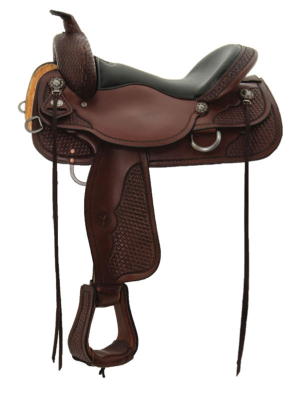 15inch to 17inch Circle Y Ashton High Country Trail Saddle 2617