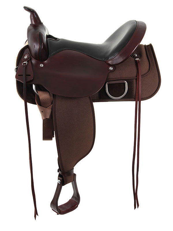 15inch to 17inch Circle Y Flex Tree Lady Trail Saddle 5901