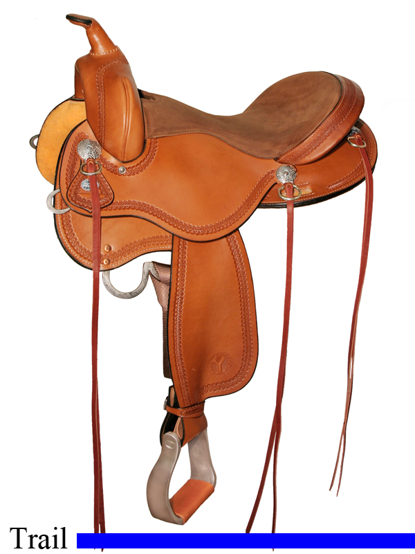 15inch to 17inch Circle Y Gillette Trail Saddle 2615