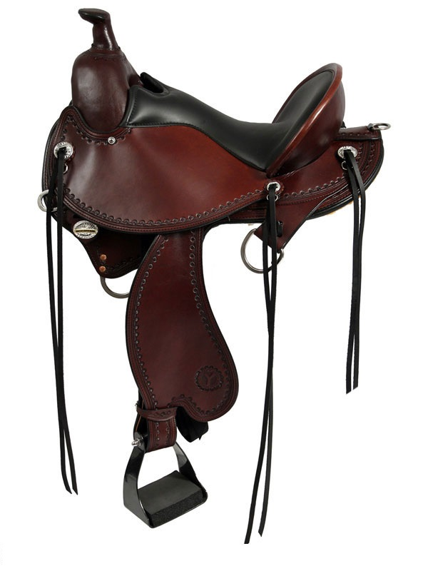15inch to 17inch Circle Y Kentucky Flex2 Trail Gaiter Saddle 1582