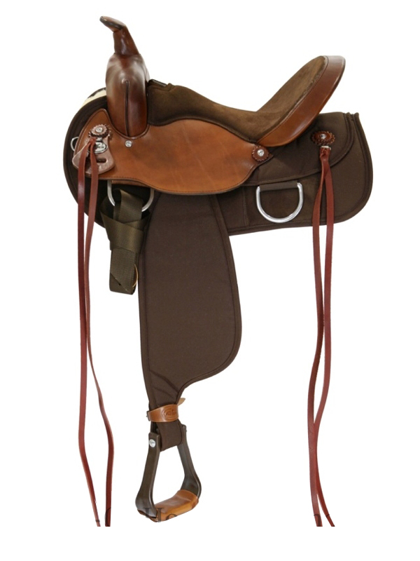 15inch to 17inch Fabtron Lady Flex Wide Trail Saddle 7152 7154 7156