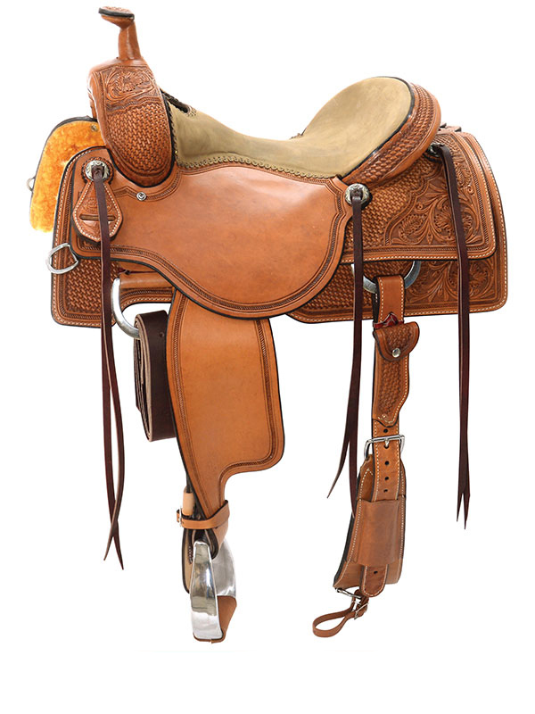 15inch to 17inch Reinsman Ranch Cutting Saddle 4823
