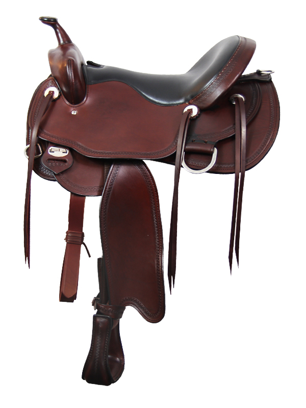 15inch to 17inch South Bend Saddle Co Frontier Lady Trail Saddle 2265