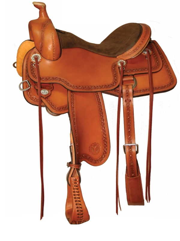 15inch to 18inch Circle Y Powder River Competitive Trail Saddle 2600