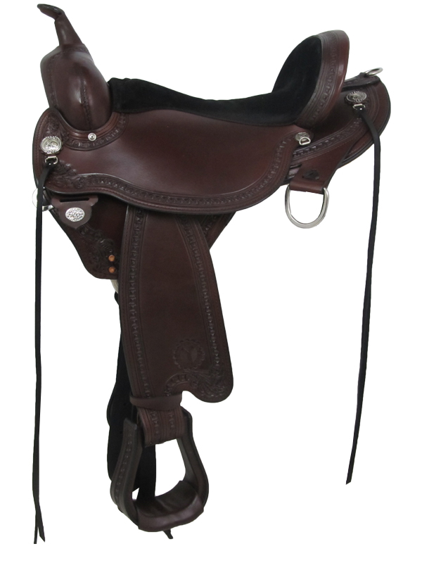15inch to 18inch Circle Y Sheridan Flex2 Trail Saddle 1572