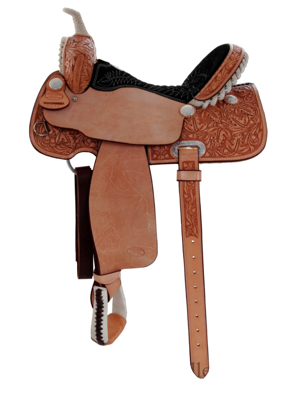 15inch_ 16inch Billy Cook Half Breed Barrel Saddle 2010