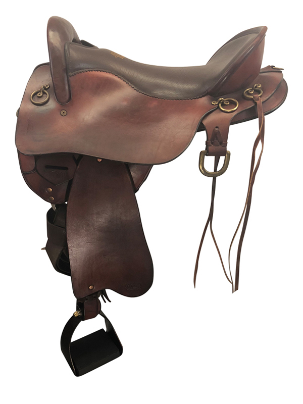 16.5inch Used Tucker Medium Endurance Saddle 158 Gen II