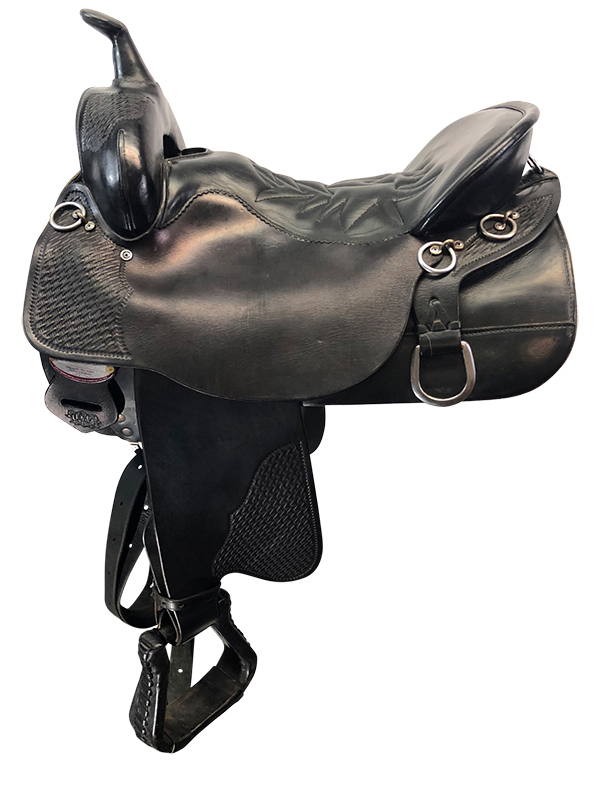16.5inch Used Tucker Medium Trail Saddle 157 Cheyenne