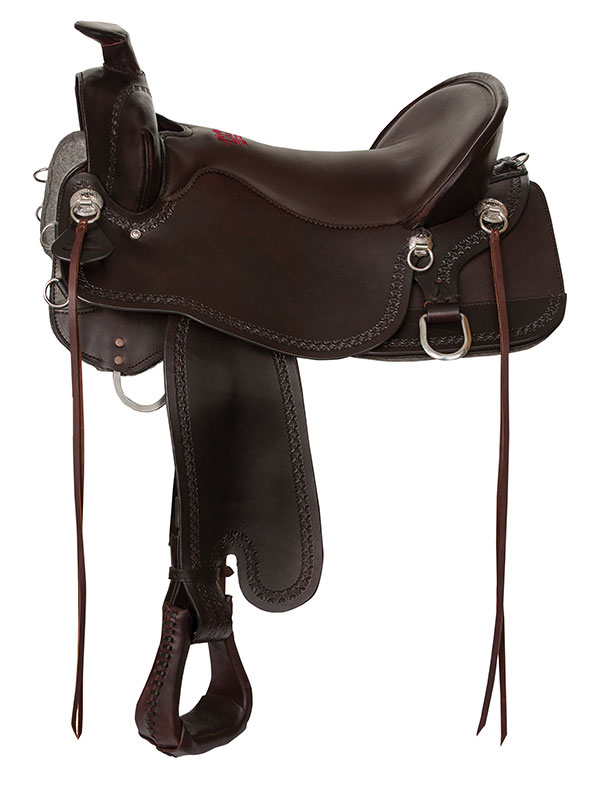 16.5inch to 18.5inch Tucker Big Bend Trail Saddle T93