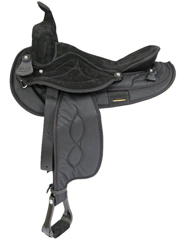 16inch 17inch Big Horn Gaited cordura Saddle 605 606