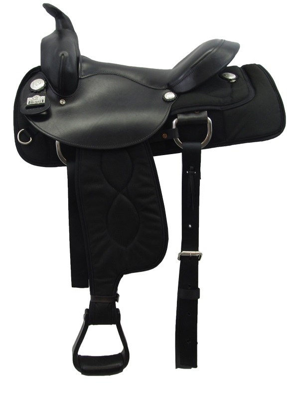 16inch 17inch Big Horn Ralide Flex Tree Gaited Saddle 303 304