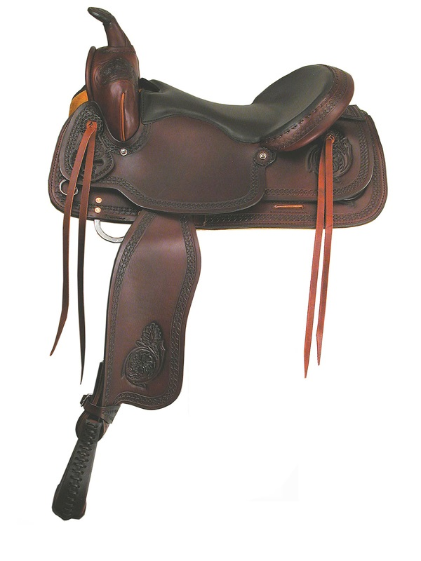 16inch 17inch Big Horn Texas Best Del Rio Rider Trail Saddle_ Gaite