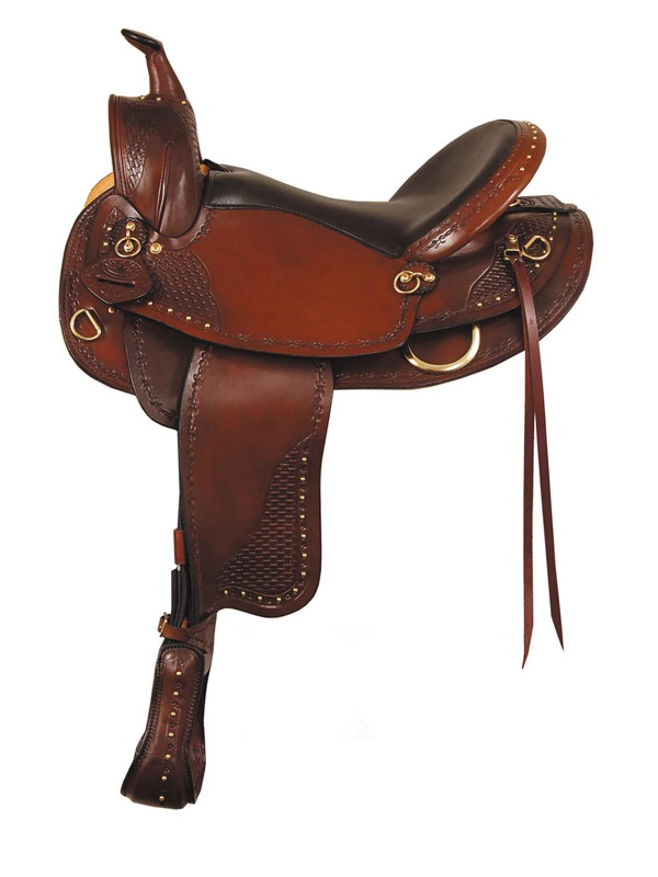 16inch 17inch Big Horn Texas Best Hill Country Trail III Saddle_ Ga