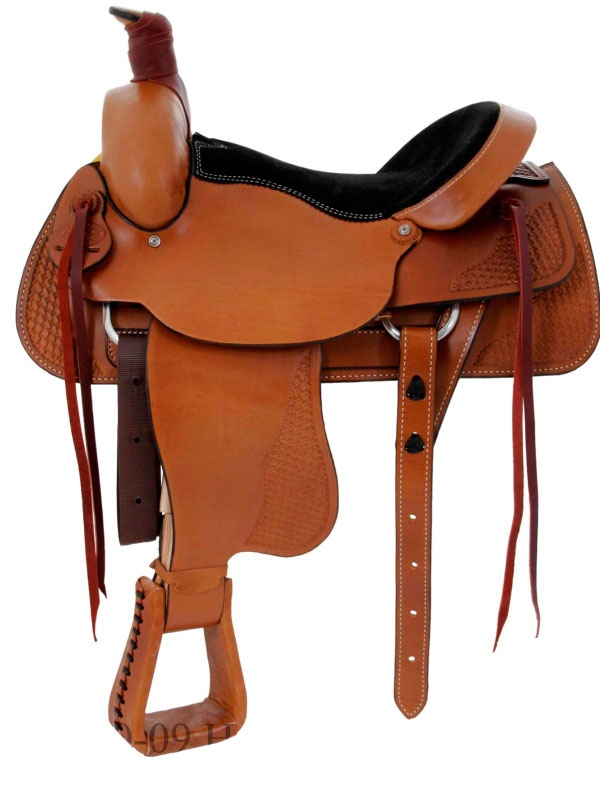 16inch 17inch Dakota FQHB Roping Saddle 501-c