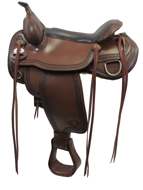16inch 17inch Tex Tan Montgomery Flex Trail Saddle 292TF481