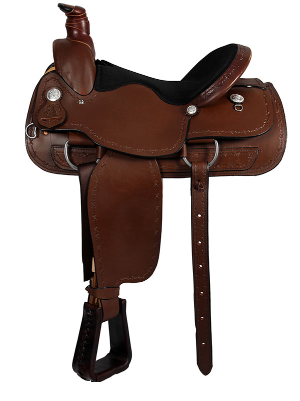 16inch American Saddlery Lexie Collection A-Fork Ranch Saddle 602