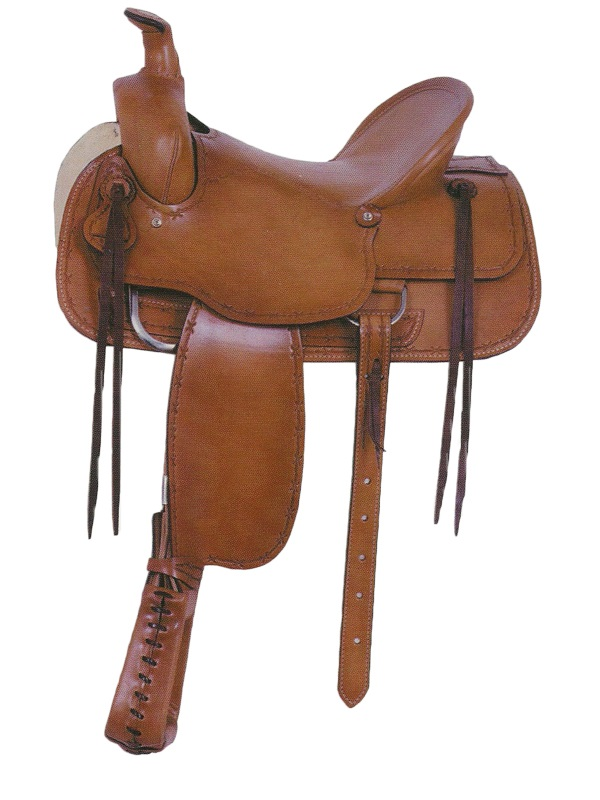 16inch American Saddlery Tucson Rancher Saddle 763