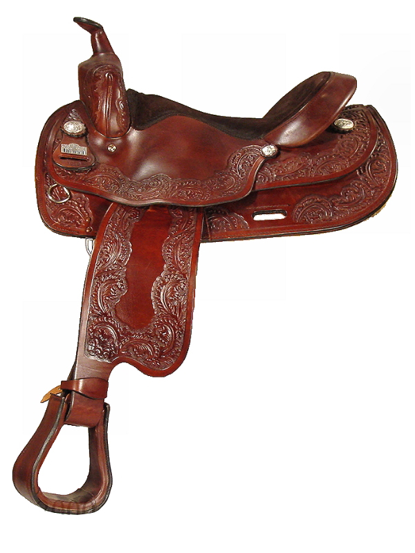 16inch Big Horn Draft Horse Saddle 1680_ 1682