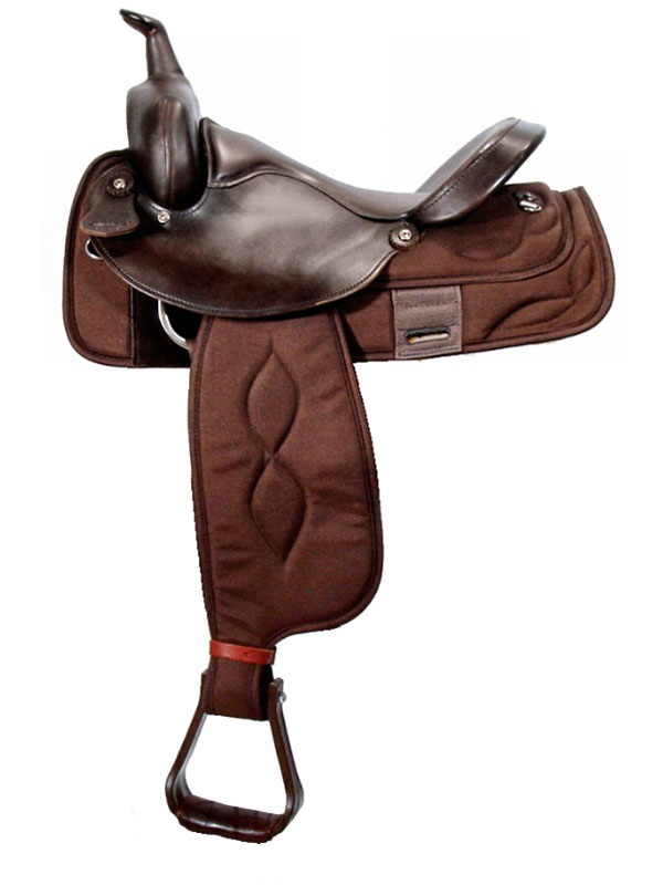 16inch Big Horn Extra Wide Trail Saddle 306