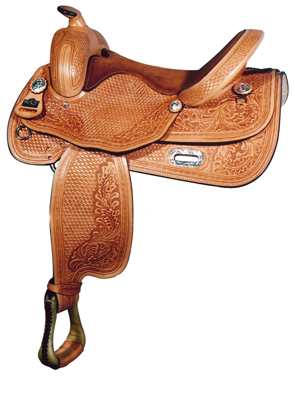 16inch Big Horn Flex Reining Saddle 848