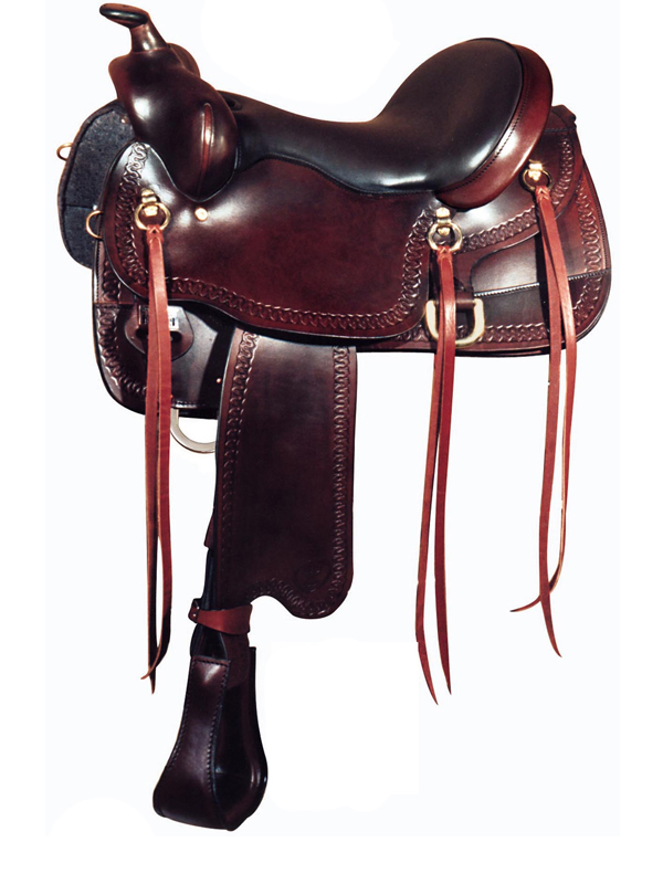 16inch Big Horn Gaited Saddle 1544