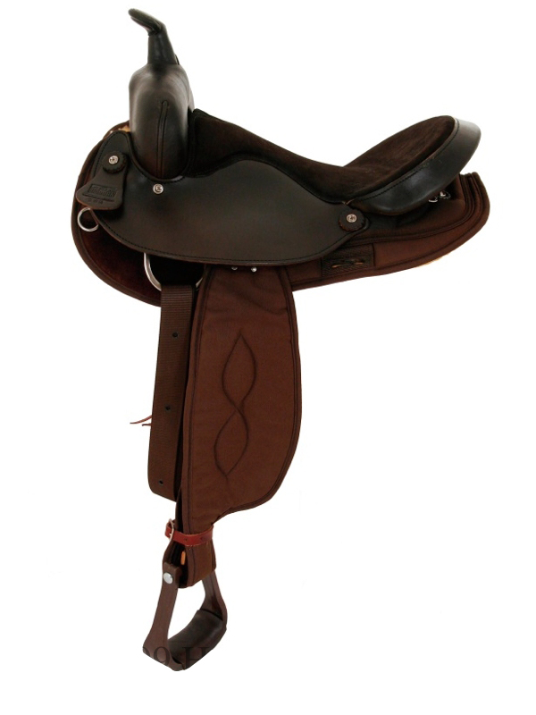 16inch Big Horn Round cordura Saddle