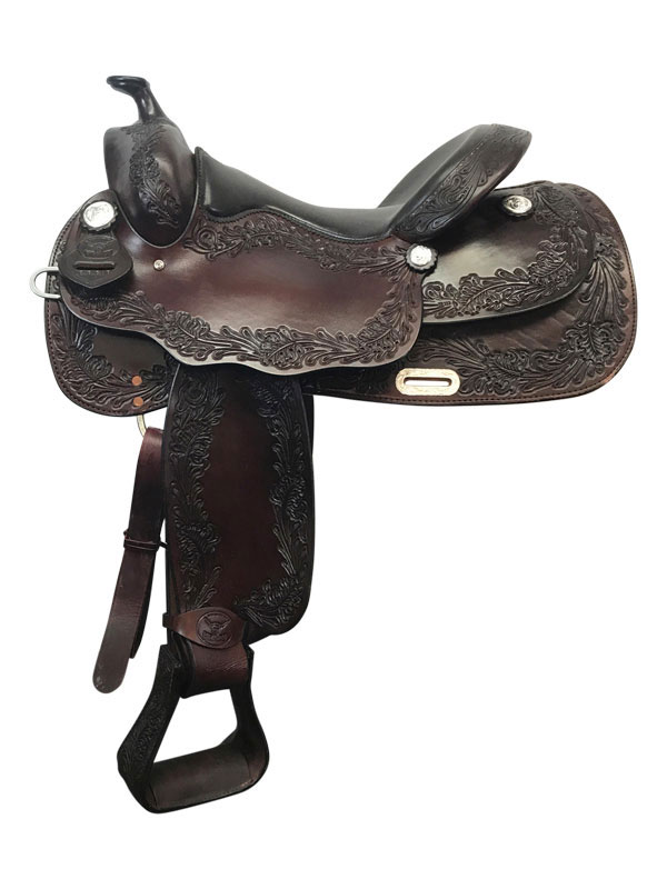 16inch Big Horn Wide Supreme Reining Saddle 889_ Floor Model