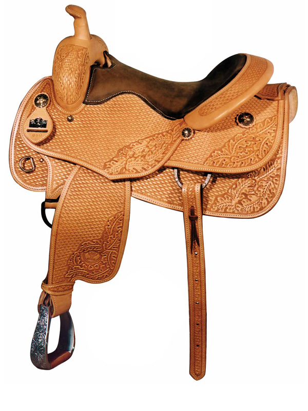 16inch Big Horn Working Cowhorse All Around Reining Saddle FQH 860