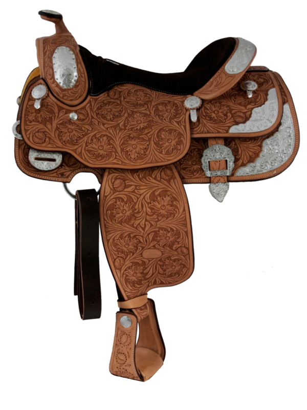 16inch Billy Cook California Show Saddle 9014