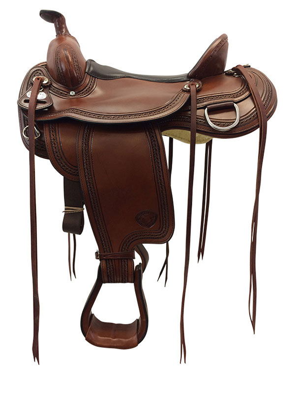 16inch Tex Tan Memphis Flex Trail Saddle 292TF478